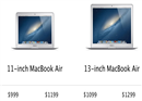 Apple update MacBook Air 2013 ជាមួយ Chip Intel Haswell, ថ្ម 12 ម៉ោង, WiFi ac